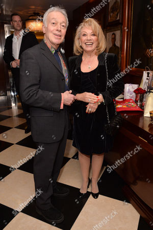 Dame Gillian Lynne's 90th Birthday at the Beaumont Hotel Nickolas Grace and Elaine Paige