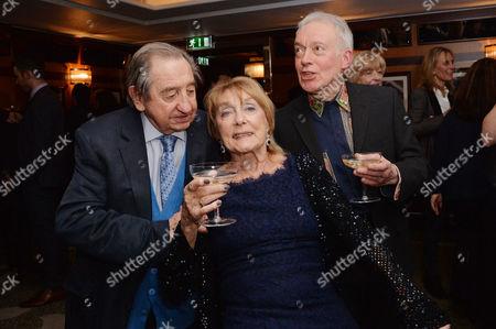 Dame Gillian Lynne's 90th Birthday at the Beaumont Hotel Derek Granger Dame Gillian Lynne and Nickolas Grace