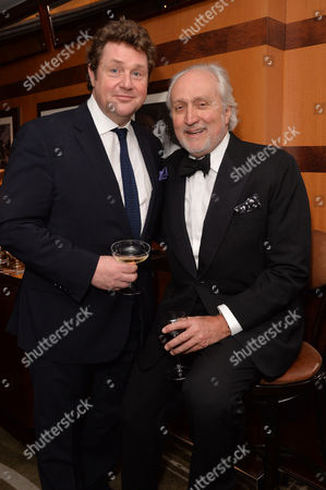 Dame Gillian Lynne's 90th Birthday at the Beaumont Hotel Michael Ball and Nick Allott