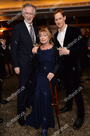 Dame Gillian Lynne's 90th Birthday at the Beaumont Hotel Peter Land with His Wife Gillian Lynne and Edward Watson