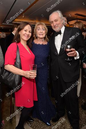 Dame Gillian Lynne's 90th Birthday at the Beaumont Hotel Arlene Phillips Dame Gillian Lynne and Nick Allott