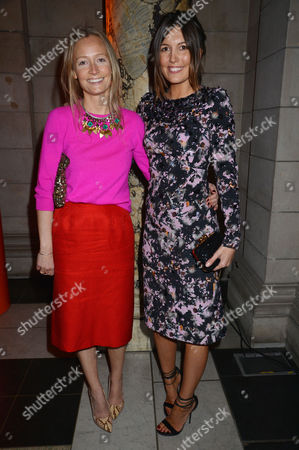 Private View at the V&a Martha Ward and Amanda Ferry