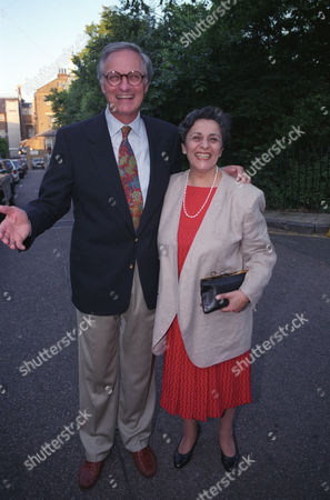 Garden Party in Carlyle Square Chelsea Alan Alda with His Wife Arlene Alda