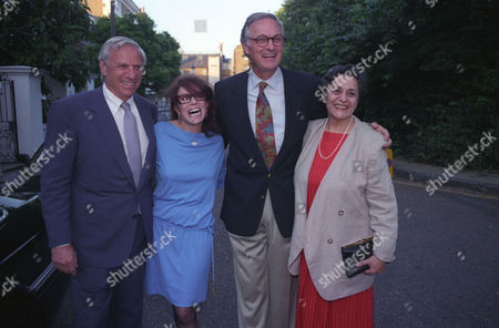 Garden Party in Carlyle Square Chelsea Alan Alda with His Wife Arlene Alda (r)