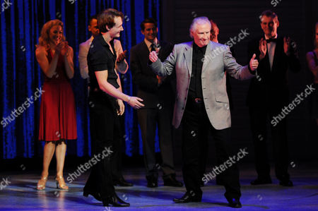Singing Legend Bill Medley (the Righteous Brothers) is Invited Up On Stage by 'Johnny Castle' Played by Paul-michael Jones at the End of 'Dirty Dancing' at London's Piccadilly Theatre Famous For Singing '(i've Had) the Time of My Life' Medley is in London This Week to Promote His First Ever Uk Concert at Wembley Arena in November