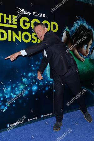 Disney Pixar 'The Good Dinosaur' Uk Gala Screening at the Picturehouse Central Nigel Marven