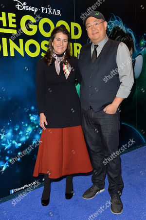 Disney Pixar 'The Good Dinosaur' Uk Gala Screening at the Picturehouse Central Producer Denise Ream and Director Peter Sohn