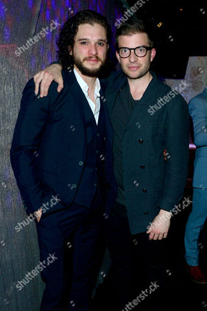 Doctor Faustus – Gala Opening Night Afterparty Kit Harington with Director Jamie Lloyd