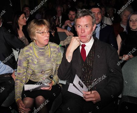 19 05 2015 A Celebration of the Life of Sir Donald Sinden at Wyndham's Theatre Charing Cross Road London Selina Cadell & Alex Jennings