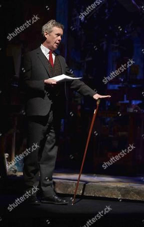 19 05 2015 A Celebration of the Life of Sir Donald Sinden at Wyndham's Theatre Charing Cross Road London Then Tea and Sandwiches with Champagne at the Garrick Club Alex Jennings
