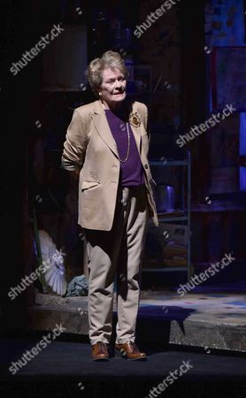 19 05 2015 A Celebration of the Life of Sir Donald Sinden at Wyndham's Theatre Charing Cross Road London Then Tea and Sandwiches with Champagne at the Garrick Club Dame Janet Suzman