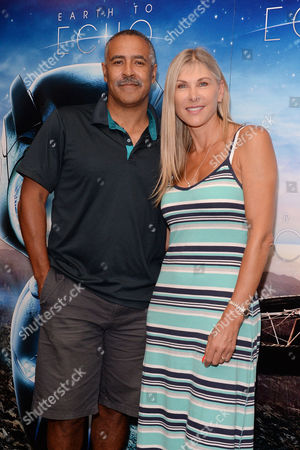 Earth to Echo Gala Screening at the Mayfair Hotel Daley Thompson and Sharron Davies