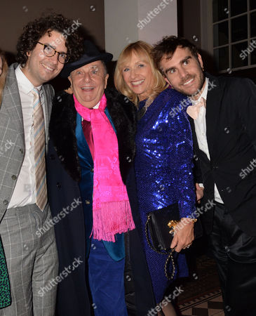 Olivia Scott-webb 15/11/2013 Barry Humphries Farewell Tour 'Eat Pray Laugh!' at the London Palladium and After Party at 1 Mayfair Olivia Scott-webb Rupert Humphries Barry Humphries Lizzie Spender & Oscar Humphries