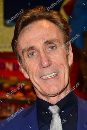 Elf the Musical Press Night Afterparty at Hamleys Toy Store Joe Mcgann