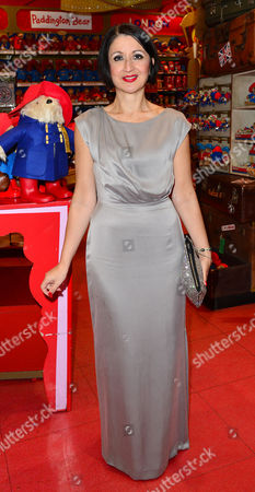 Elf the Musical Press Night Afterparty at Hamleys Toy Store Jessica Martin
