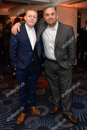 Empire Film Awards at the Grosvenor House Hotel Shane Meadows and Thomas Turgoose