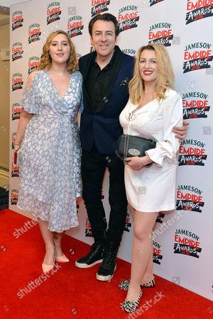 Empire Film Awards at the Grosvenor House Hotel Honey Kinney Ross Jonathan Ross and Jane Goldman