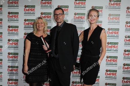 Editorial image of Empire Film Awards Press Room - 24 Mar 2013