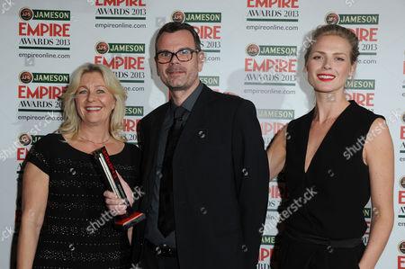 Editorial photo of Empire Film Awards Press Room - 24 Mar 2013