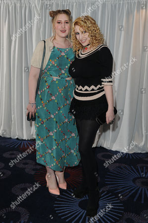 Jameson Empire Film Awards 2015 Vip Reception at the Grosvenor House Hotel Jane Goldman with Her Daughter Honey Kinney Ross