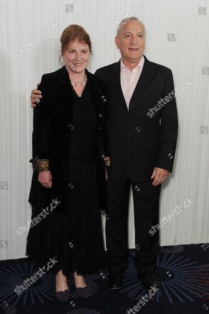 Jameson 2014 Empire Film Awards Reception at the Grosvenor House Hotel Felicity Montagu and Simon Greenall