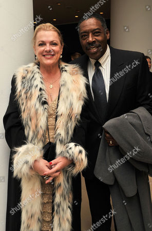 English National Ballet's the Nutcracker Pre-show Reception Ernie Hudson with His Wife Linda Kingsberg