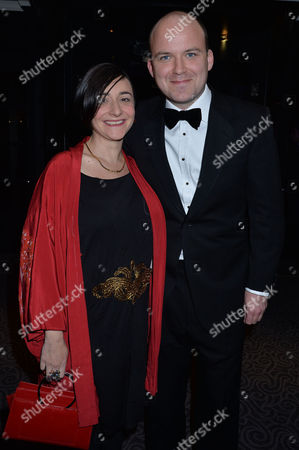 59th Evening Standard Drama Awards at the Savoy Hotel Rory Kinnear with His Partner Pandora Colin