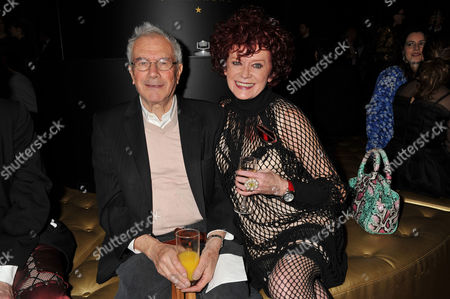 Stock Photo of Evening Standard Film Awards at County Hall Michael White and Patricia Quinn