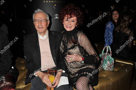 Stock Image of Evening Standard Film Awards at County Hall Michael White and Patricia Quinn