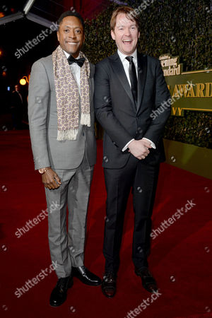 the Evening Standard Theatre Awards at Old Vic Matt Henry and Killian Donnelly