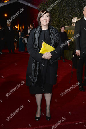 the Evening Standard Theatre Awards at Old Vic Vicky Featherstone