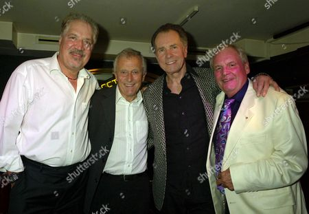 an Evening with Barry Mason & Friends at the Dover Street Restaurant & Bar in Aid of the Variety Club Peter Sarstedt Roger Greenaway Barry Mason & Tony Hatch
