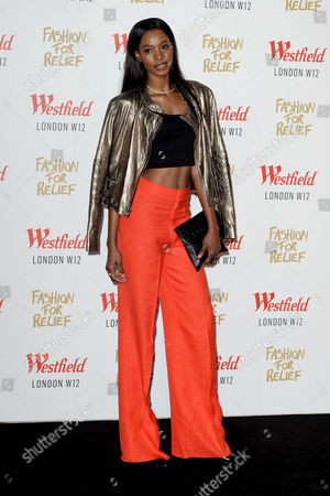 Fashion For Relief at Westfield Shepherds Bush Sigail Currie