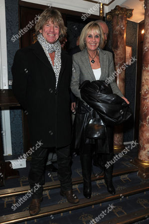 Fatal Attraction Press Night at the Theatre Royal Haymarket and Afterparty at Mintleaf Robin Askwith and Linda Hayden