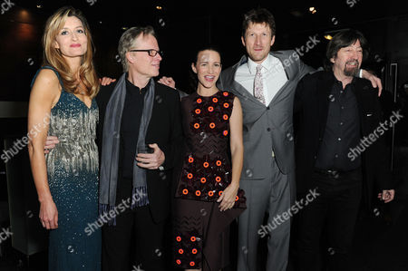 Fatal Attraction Press Night at the Theatre Royal Haymarket and Afterparty at Mintleaf Natascha Mcelhone Writer James Dearden Mark Bazeley Kristin Davis and Director Trevor Nunn