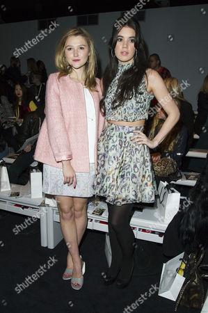Felder+felder Fashion Show During London Fashion Week at Somerset House Amber Atherton and Sophia Sassoon