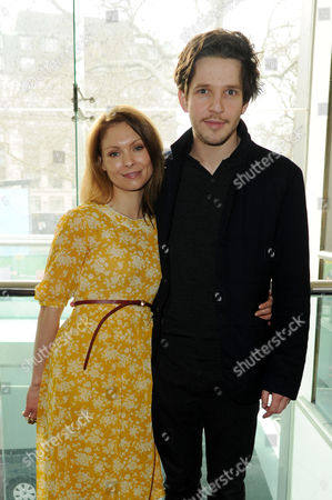 First Light Awards at the Odeon Leicester Square Myanna Buring and Damien Molony