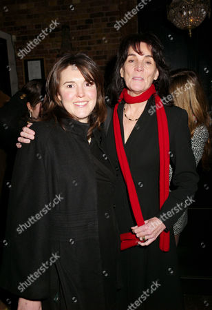First Night Party For 'Private Lives' at Jewel Covent Garden Sue Birtwistle (lady Eyre) with Her Daughter