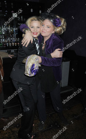 First Night Party For 'Private Lives' at Jewel Covent Garden Kim Cattrall and Katrine Boorman
