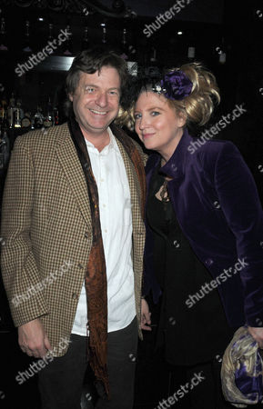 First Night Party For 'Private Lives' at Jewel Covent Garden Danny Moynihan and Katrine Boorman