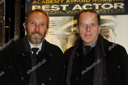 'Flight' Uk Premiere at the Empire Leicester Square Producers Jack Rapke and Steve Starkey