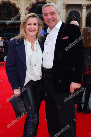 Florence Foster Jenkins World Premiere at Odeon Leicester Square Dom and Steph Parker