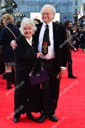Florence Foster Jenkins World Premiere at Odeon Leicester Square Jean Boht with Her Husband Carl Davis