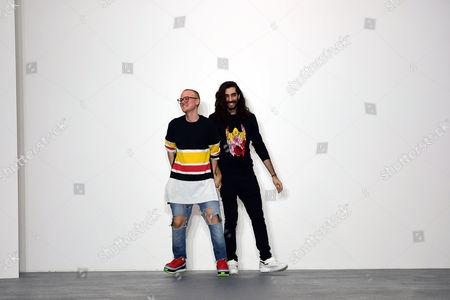 Fyodor Golan Fashion Show During London Fashion Week Ss16 at Bfc Space Brewer Street Carpark Designers Fyodor Podgorny and Golan Frydman