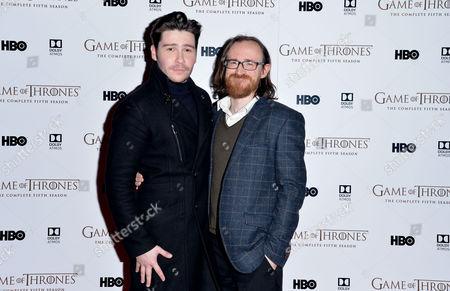 'Game of Thrones' Premiere Gala Screening For Blu Ray & Dvd of Season 5 Daniel Portman and Ben Crompton