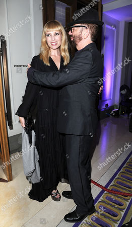 'Ghost' Press Night Afterparty at the Corinthia Hotel Dave Stewart with His Wife Anoushka Fisz