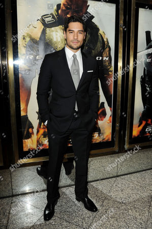Gi Joe 3d Retaliation Premiere at the Empire Leicester Square D J Cotrona