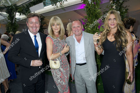 Glamour Woman of the Year Awards 2012 at Berkeley Square Gardens Piers Morgan with His Wife Celia Walden and Gary Farrow with His Wife Jane Moore