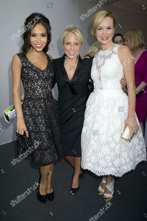 Glamour Woman of the Year Awards 2012 at Berkeley Square Gardens Myleene Klass Clemmie Moodie and Amanda Holden