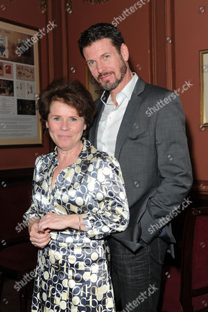 Good People Press Night at the Noel Coward Theatre Imelda Staunton with Lloyd Owen